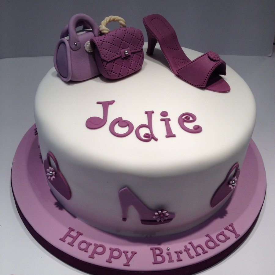shoe birthday cakes