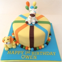 Sweet at One cake - yellow