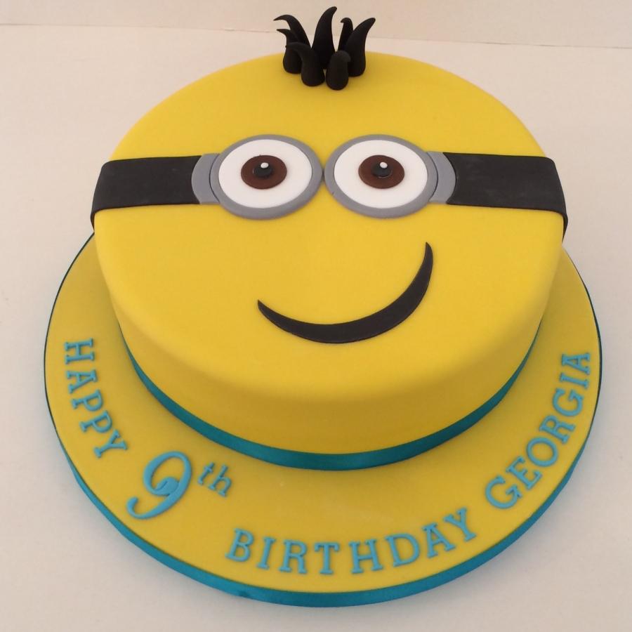 Wondrous 9 Minion Cake Funny Birthday Cards Online Aeocydamsfinfo