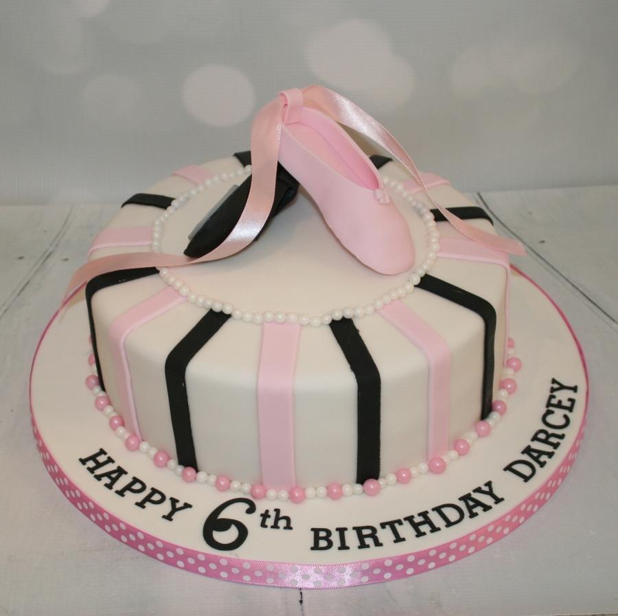 Cool Pink Black Dance Cake Funny Birthday Cards Online Hetedamsfinfo