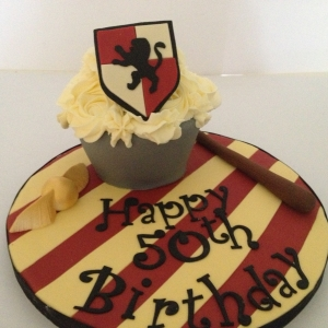 Harry Potter baby giant cupcake