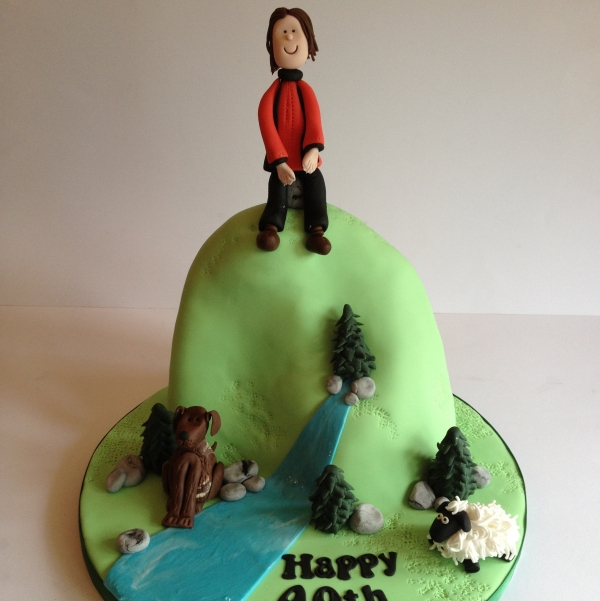 Countryside cake