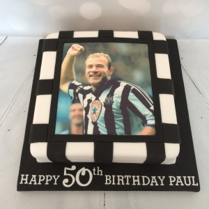 Alan Shearer cake