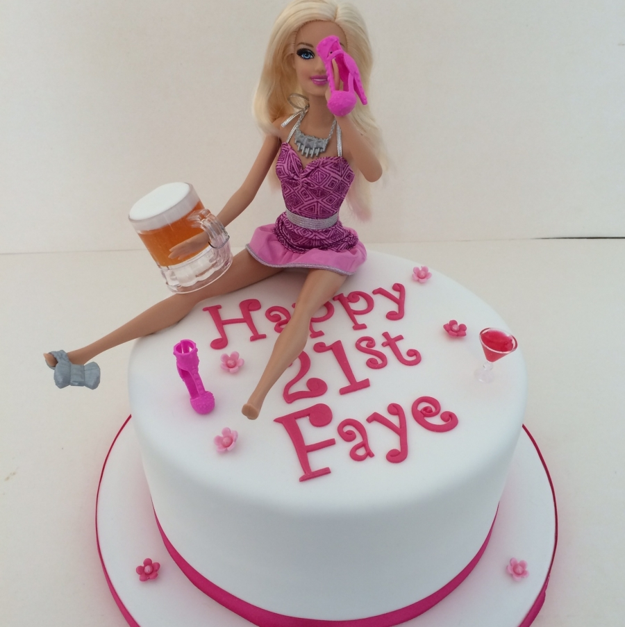 Drunk Barbie Cake Images : Drunk Barbie cake