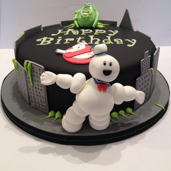 Ghostbusters birthday cake