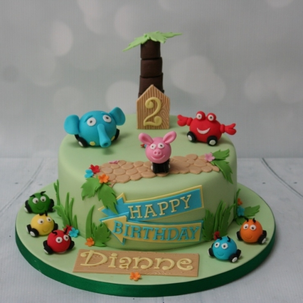 Jungle Junction cake