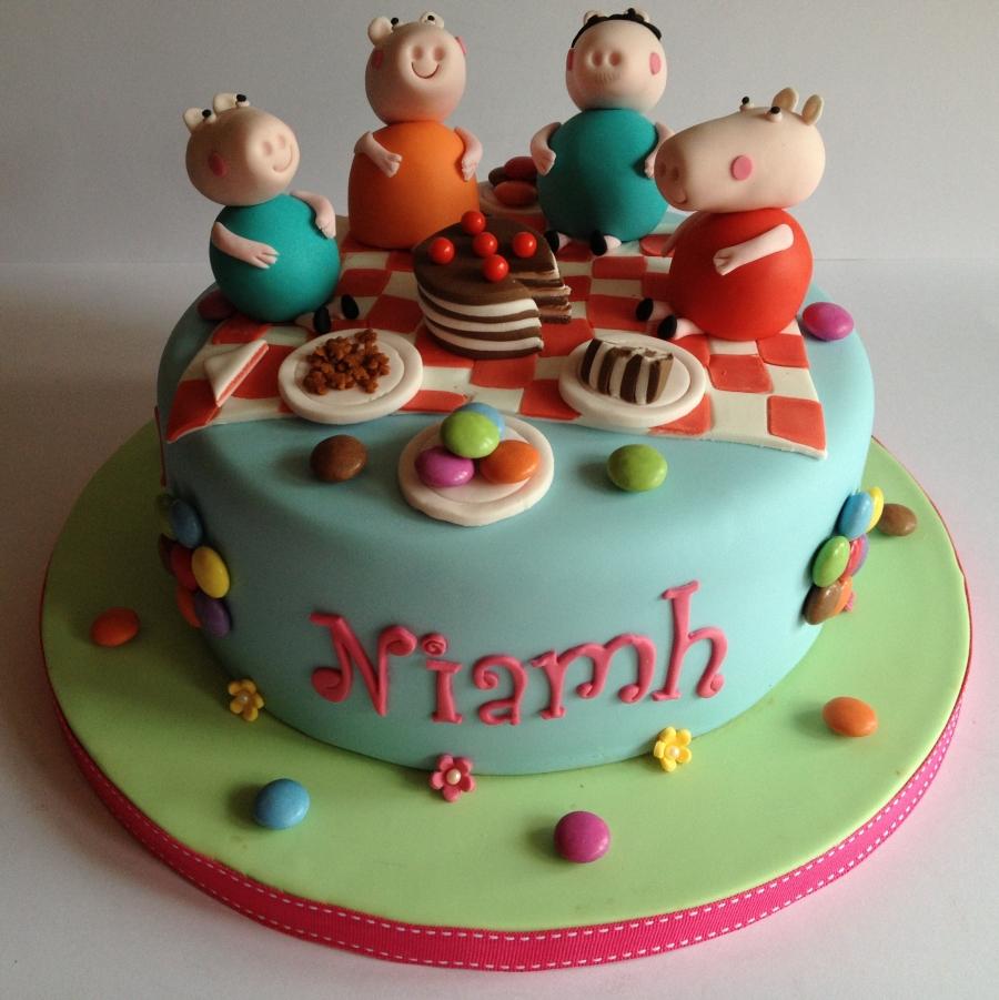 Peppa Pig Birthday Cake Sheffield