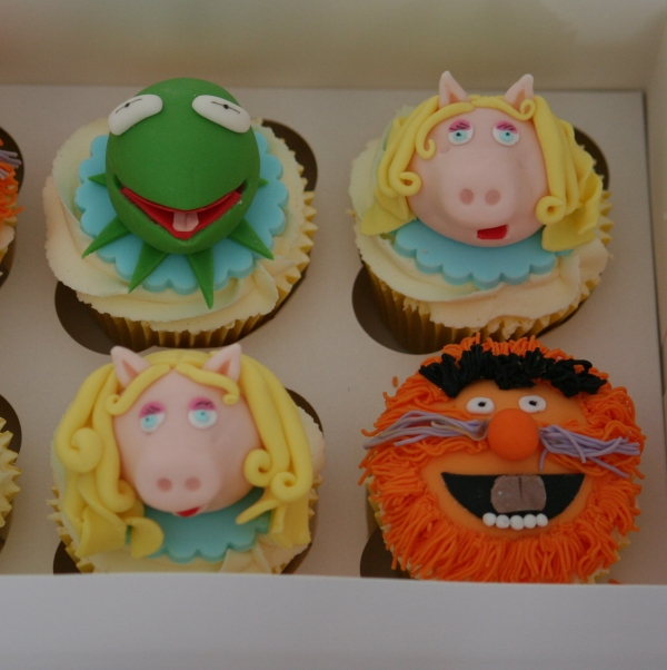 Muppets theme cupcakes