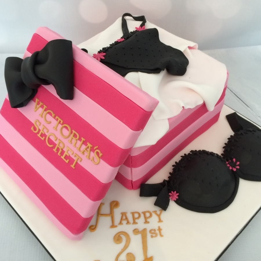 Sweet  Victoria Secret Birthday Cake