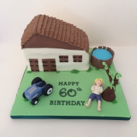 French house cake