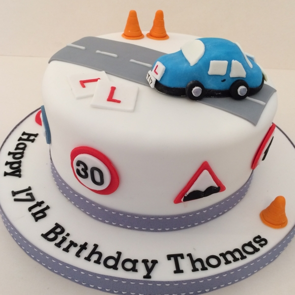 Learner driver cake