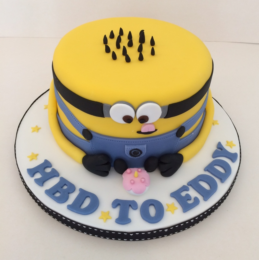 Fabulous Minion Birthday Cake Funny Birthday Cards Online Eattedamsfinfo