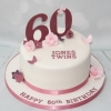 60th birthday cake for twins