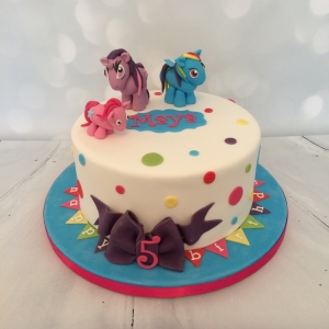 My Little Pony (Rainbow Dash) cake