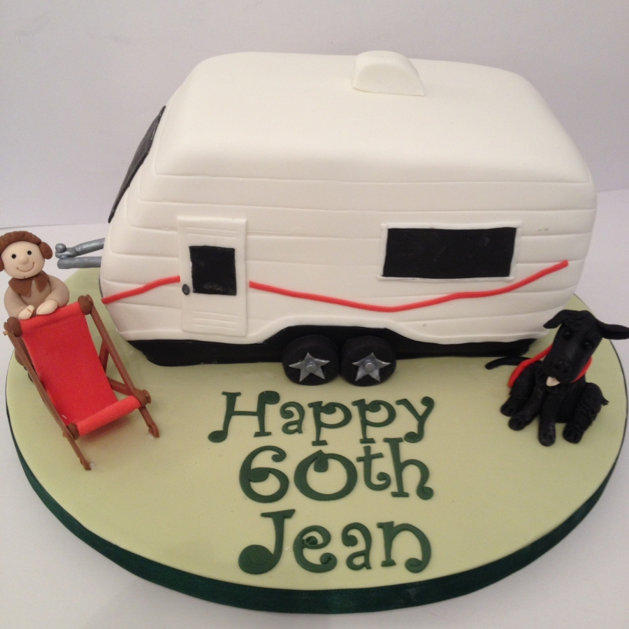 Caravan Cake 60th Birthday For A Lady