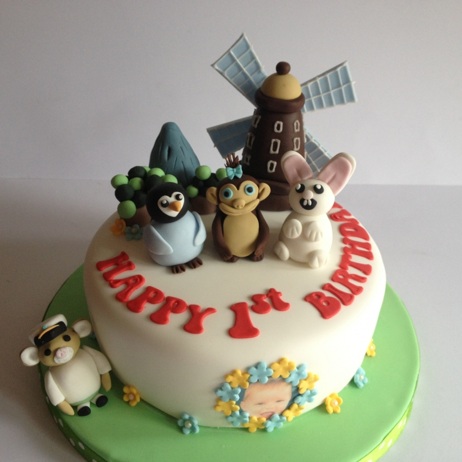 Baby Jake cake