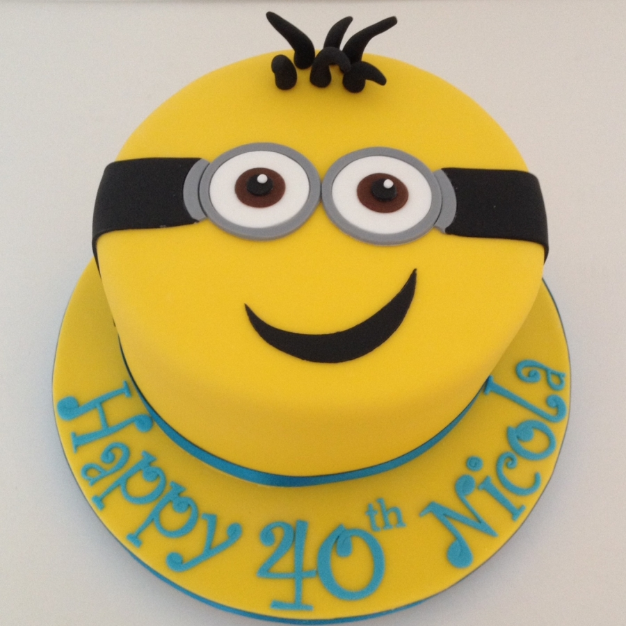 Minion Birthday Cake Pan