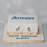 Corporate birthday cake