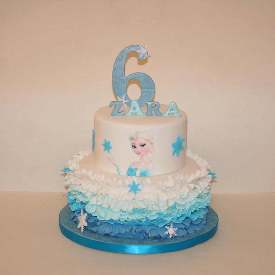 Tier Frozen Cake Ideas