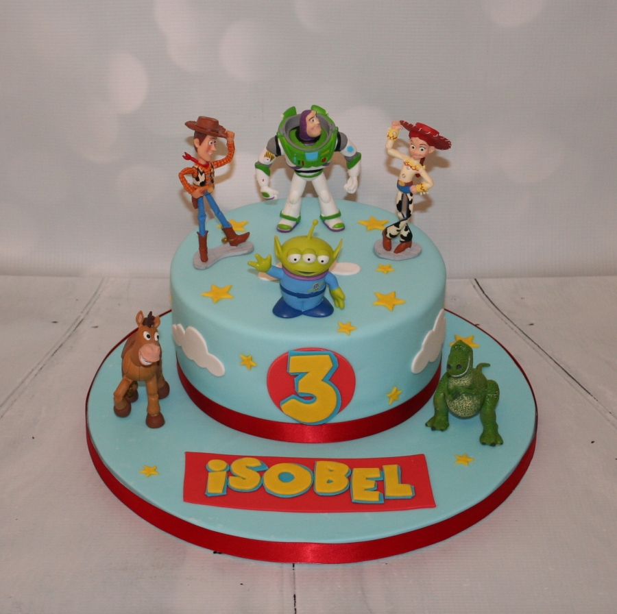 Wedding cake toppers with baker s cakes 50th wedding anniversary cake - Toy Story Favourite Characters