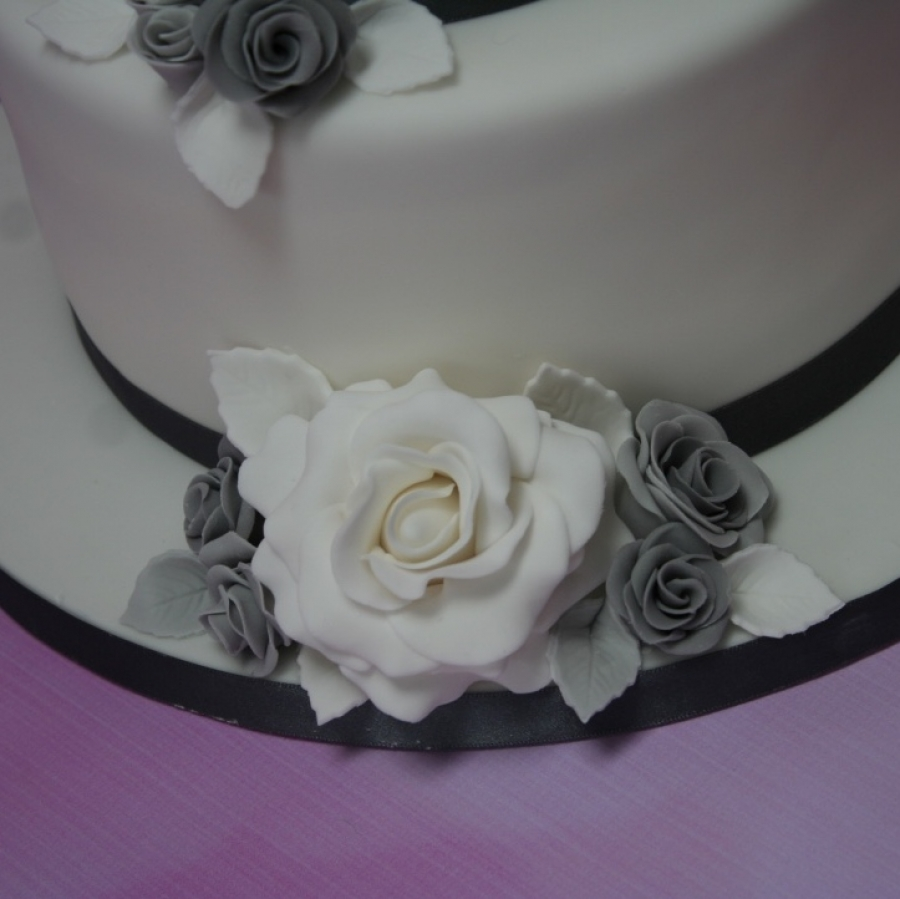 Displaying items by tag sugar flowers silver and grey wedding flower close up 1 izmirmasajfo
