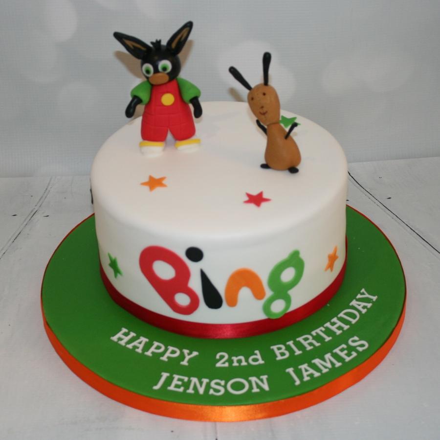 Bing Bunny Cake