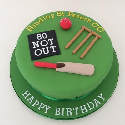 Cricket Birthday Cake Images : Cricket theme cake