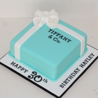 Tiffany box cake - 8""