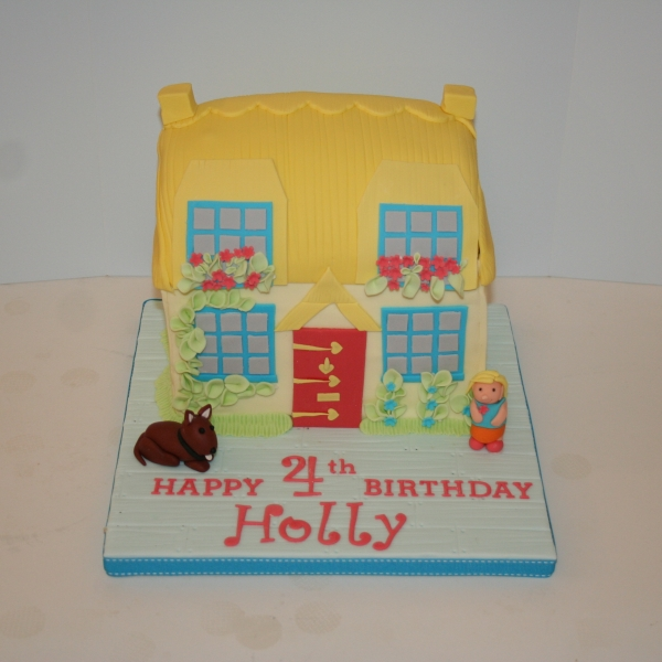 Happland Rose Cottage cake