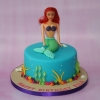 Arial themed cake (Little Mermaid)