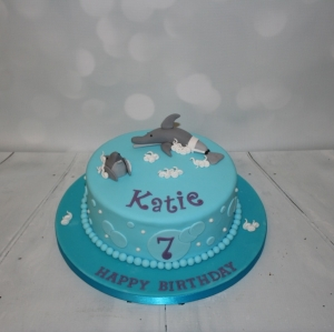 Dolphin Tale themed cake