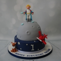 The Little Prince themed cake