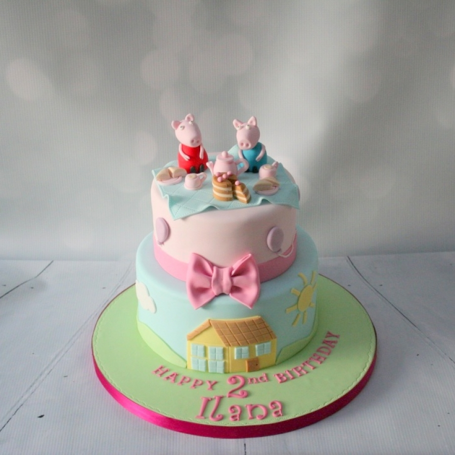 Peppa Pig Girl Birthday Cake