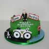 Cycling themed 40th birthday cake