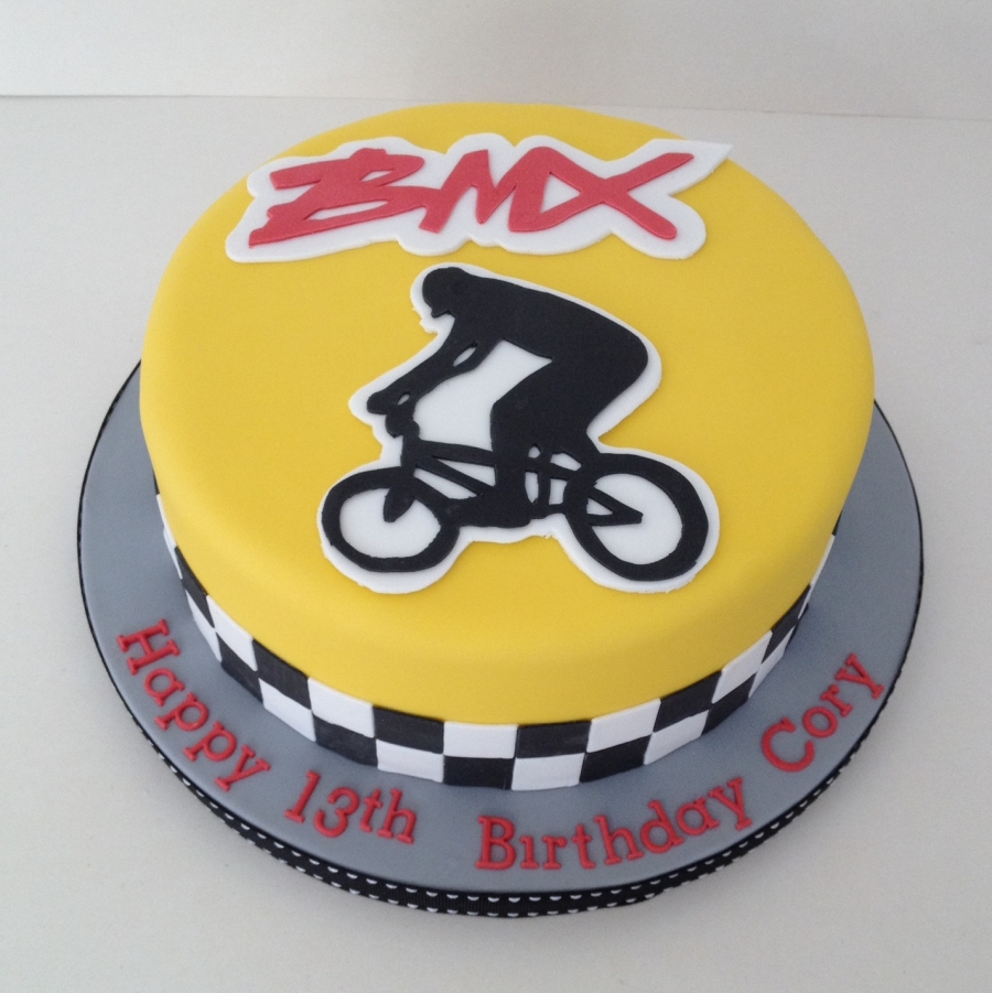Bmx Birthday Cake Ideas