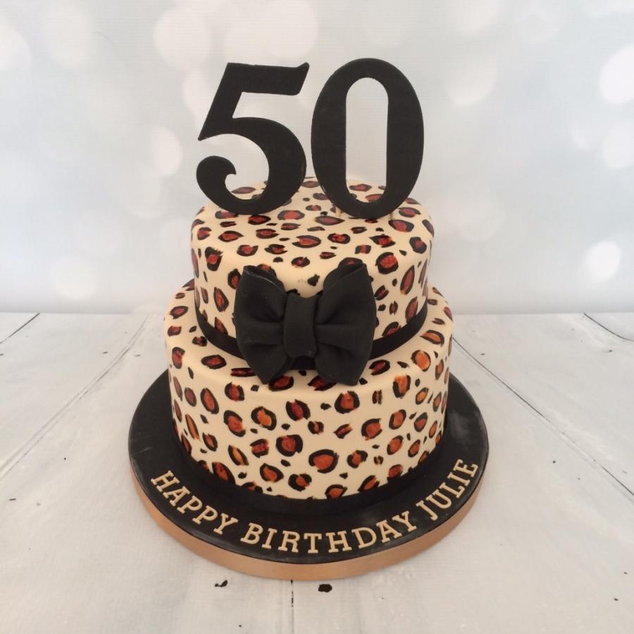 Cheetah Cake Decorations