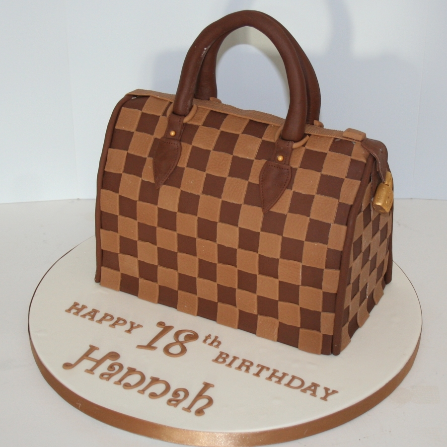 Louis Vuitton Speedy 30 Cake