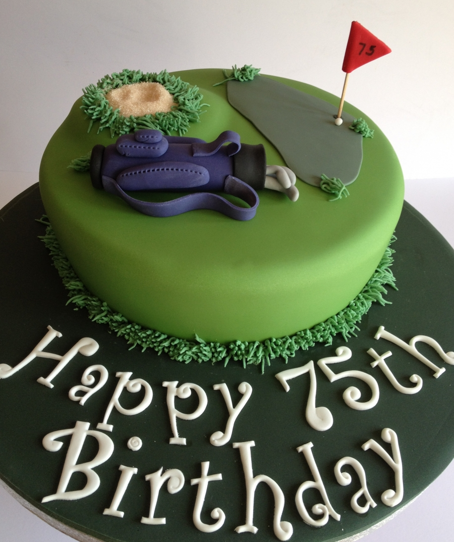 Golf Themed Cake Images : Golf theme cake