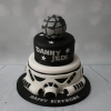 Star Wars Death Star - 2 tier cake