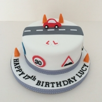 Learner driver birthday cake