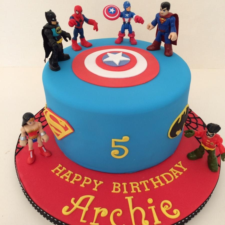 Marvel Comics Wedding Cake