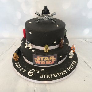 Star Wars themed cake