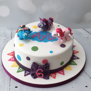 Spotty My Little Pony cake