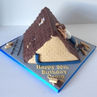 Roof cake - different angle