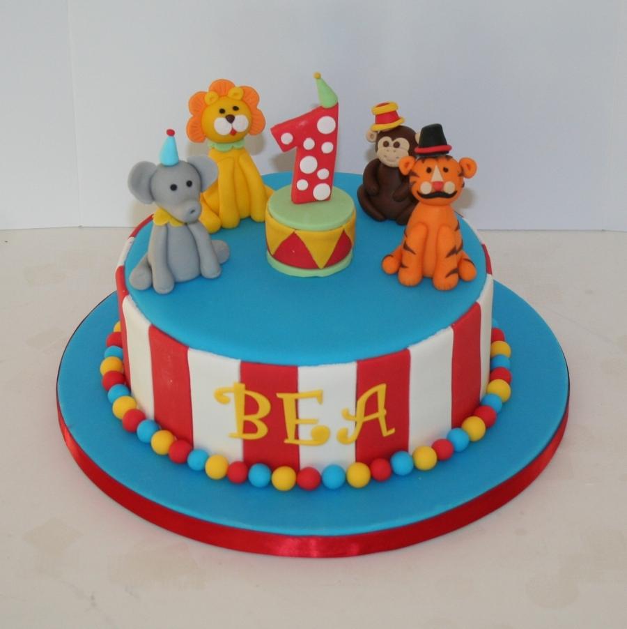 Cool Circus Theme 1St Birthday Funny Birthday Cards Online Elaedamsfinfo