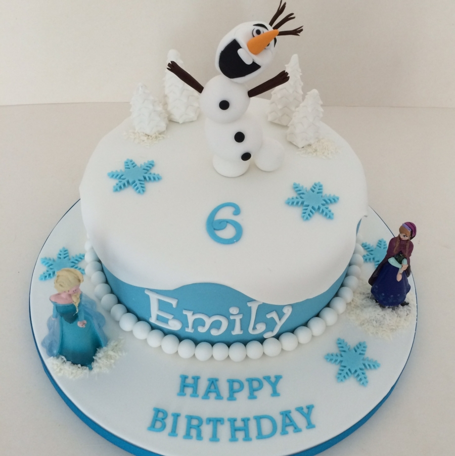 Frozen Birthday Cake Sheffield