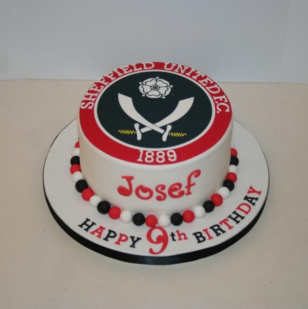 Baby Shower Cakes Sheffield ~ Sufc badge cake