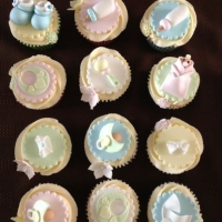 Babyshower cupcakes - boy or girl