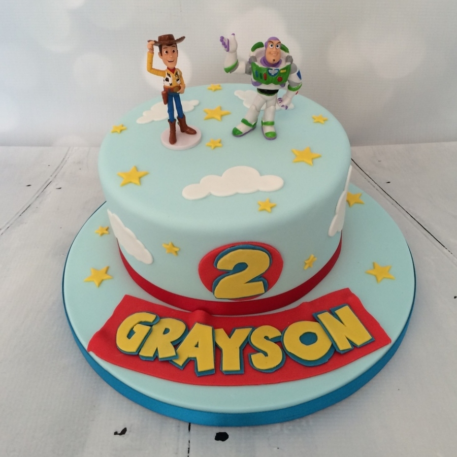 Wedding cake toppers with baker s cakes 50th wedding anniversary cake - Toy Story Cake