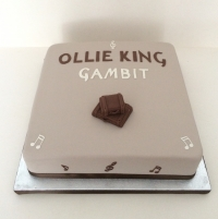 Album launch cake - Ollie King
